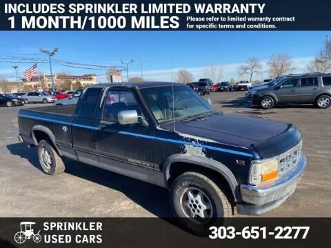 1994 Dodge Dakota for sale at Sprinkler Used Cars in Longmont CO