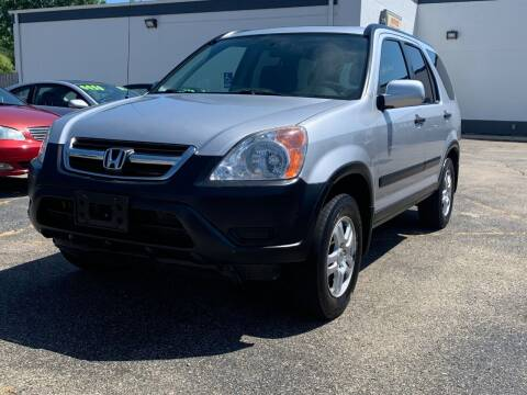 2002 Honda CR-V for sale at HIGHLINE AUTO LLC in Kenosha WI