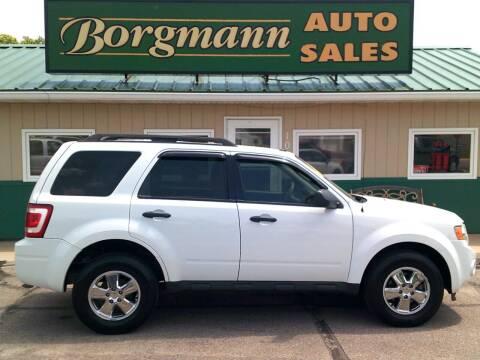 2011 Ford Escape for sale at Borgmann Auto Sales in Norfolk NE