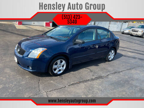 2009 Nissan Sentra for sale at Hensley Auto Group in Middletown OH