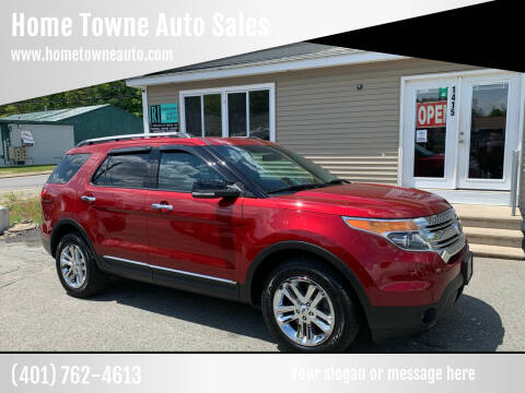 2014 Ford Explorer for sale at Home Towne Auto Sales in North Smithfield RI