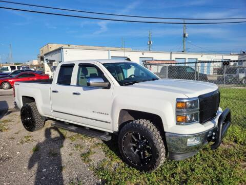2015 Chevrolet Silverado 1500 for sale at Car Girl 101 in Oakland Park FL