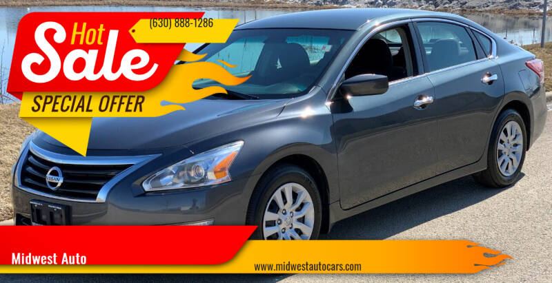 2013 Nissan Altima for sale at Midwest Auto in Naperville IL