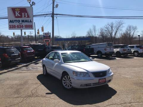 2009 Hyundai Azera for sale at KB Auto Mall LLC in Akron OH