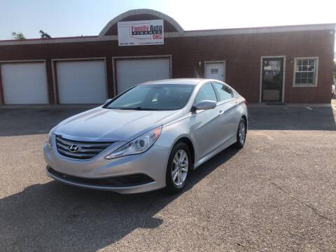 2014 Hyundai Sonata for sale at Family Auto Finance OKC LLC in Oklahoma City OK