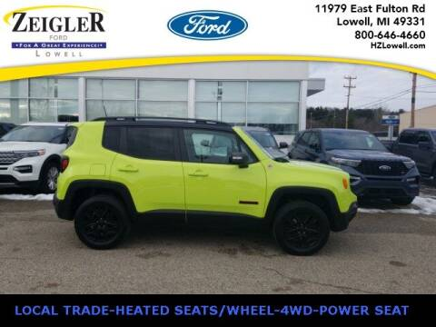 2018 Jeep Renegade for sale at Zeigler Ford of Plainwell- Jeff Bishop in Plainwell MI