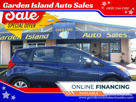 2018 Nissan Versa Note for sale at Garden Island Auto Sales in Lihue HI