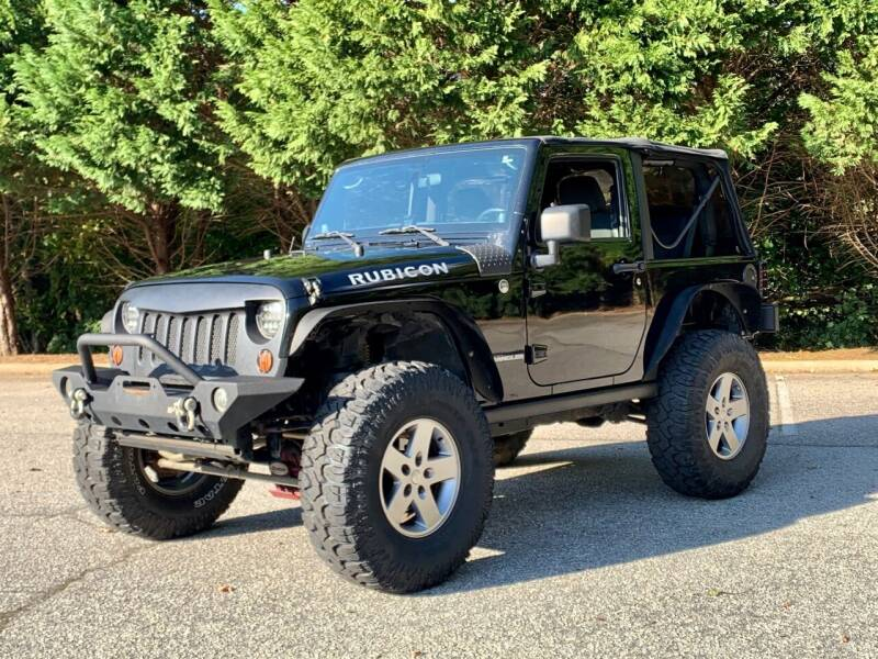 2012 Jeep Wrangler for sale at GR Motor Company in Garner NC