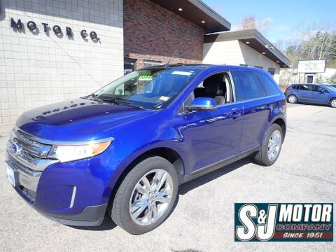 2013 Ford Edge for sale at S & J Motor Co Inc. in Merrimack NH