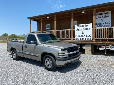 2002 Chevrolet Silverado 1500 for sale at Vermilion Auto Sales & Finance in Erath LA