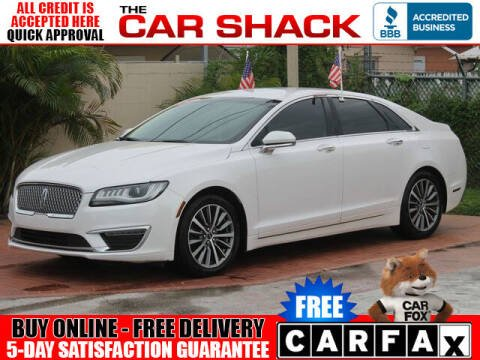 2017 Lincoln MKZ for sale at The Car Shack in Hialeah FL