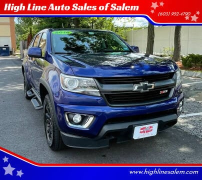 2016 Chevrolet Colorado for sale at High Line Auto Sales of Salem in Salem NH