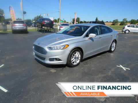 2013 Ford Fusion for sale at A to Z Auto Financing in Waterford MI
