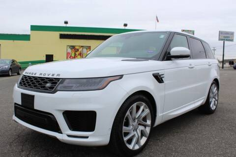 2019 Land Rover Range Rover Sport for sale at Vantage Auto Wholesale in Moonachie NJ