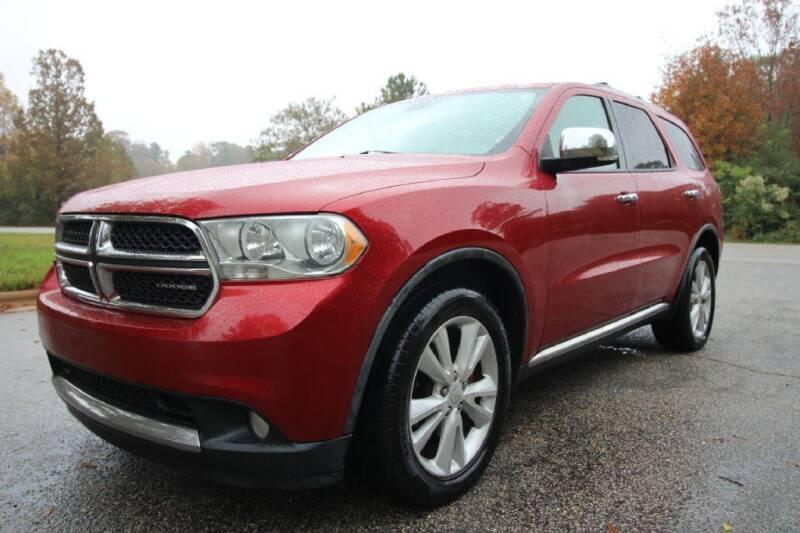2011 Dodge Durango for sale at Oak City Motors in Garner NC