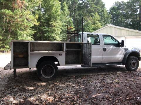 2009 Ford F-550 Super Duty for sale at M & W MOTOR COMPANY in Hope AR