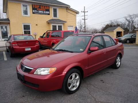 2002 Mazda Protege for sale at Top Gear Motors in Winchester VA