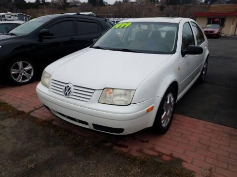 2000 Volkswagen Jetta for sale at Marvelous Motors in Garden City ID