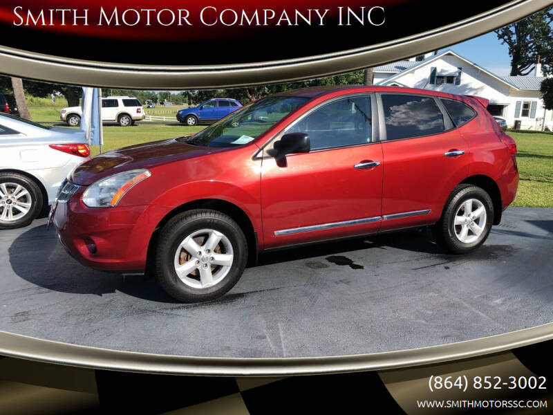 2012 Nissan Rogue for sale at Smith Motor Company INC in Mc Cormick SC