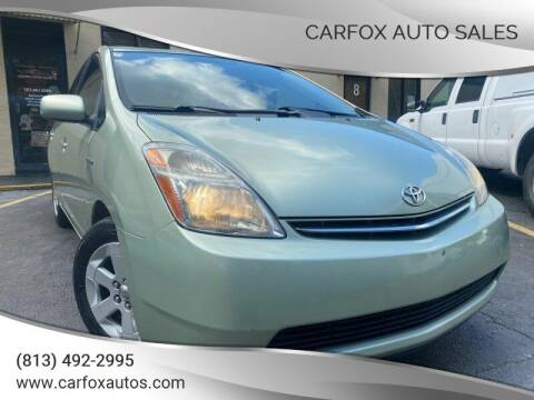 2008 Toyota Prius for sale at Carfox Auto Sales in Tampa FL