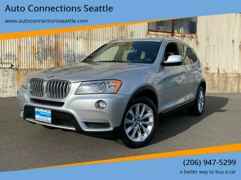 2013 BMW X3 for sale at Auto Connections Seattle in Seattle WA
