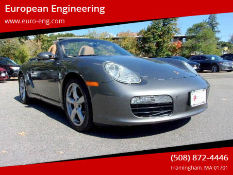 2008 Porsche Boxster for sale at European Engineering in Framingham MA