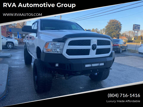 2014 RAM Ram Pickup 1500 for sale at RVA Automotive Group in North Chesterfield VA