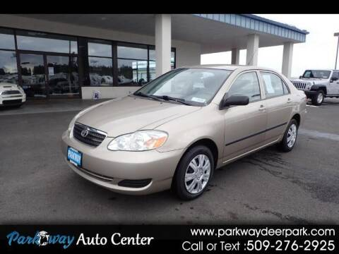 2007 Toyota Corolla for sale at PARKWAY AUTO CENTER AND RV in Deer Park WA