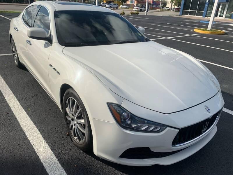 2014 Maserati Ghibli for sale at Eden Cars Inc in Hollywood FL