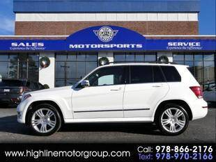 2013 Mercedes-Benz GLK for sale at Highline Group Motorsports in Lowell MA
