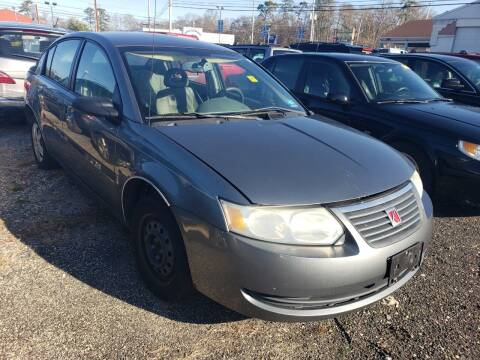 2006 Saturn Ion for sale at CRS 1 LLC in Lakewood NJ