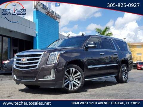 2016 Cadillac Escalade ESV for sale at Tech Auto Sales in Hialeah FL