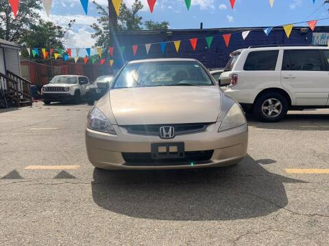 2004 Honda Accord for sale at Metro Auto Sales in Lawrence MA