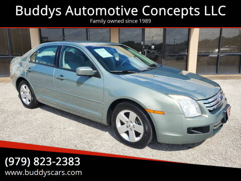 2008 Ford Fusion for sale at Buddys Automotive Concepts LLC in Bryan TX