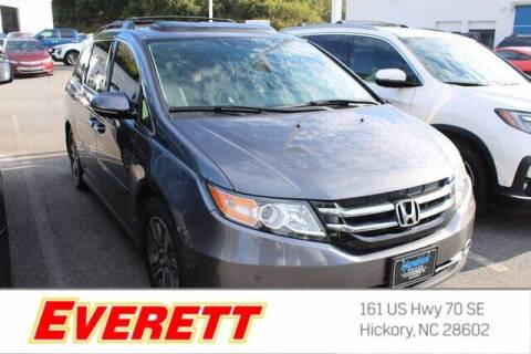2014 Honda Odyssey for sale at Everett Chevrolet Buick GMC in Hickory NC