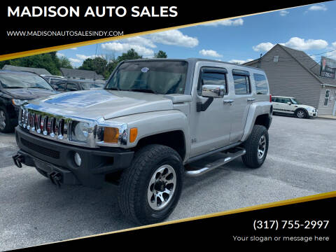 2007 HUMMER H3 for sale at MADISON AUTO SALES in Indianapolis IN