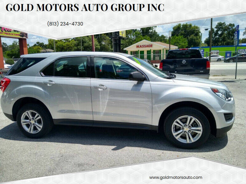 2017 Chevrolet Equinox for sale at Gold Motors Auto Group Inc in Tampa FL