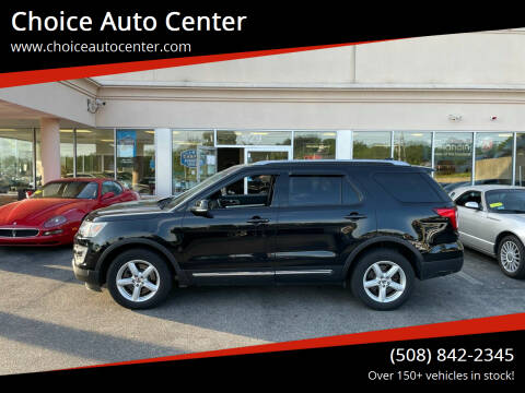 2016 Ford Explorer for sale at Choice Auto Center in Shrewsbury MA