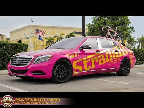 2016 Mercedes-Benz S-Class for sale at The New Auto Toy Store in Fort Lauderdale FL