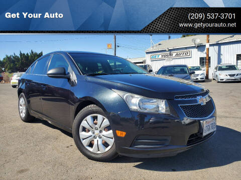 2012 Chevrolet Cruze for sale at Get Your Auto in Ceres CA