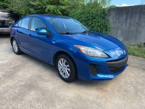 2012 Mazda MAZDA3 for sale at Auto Deal Line in Alpharetta GA