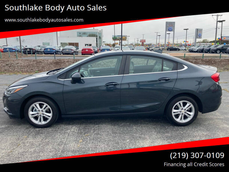 2017 Chevrolet Cruze for sale at Southlake Body Auto Sales in Merrillville IN