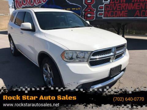 2011 Dodge Durango for sale at Rock Star Auto Sales in Las Vegas NV