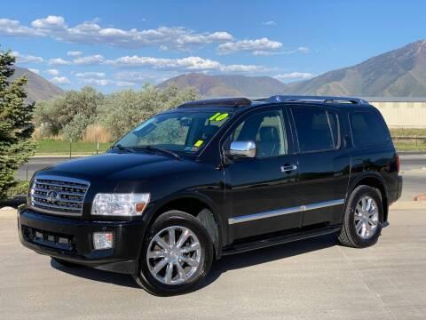 2010 Infiniti QX56 for sale at Evolution Auto Sales LLC in Springville UT