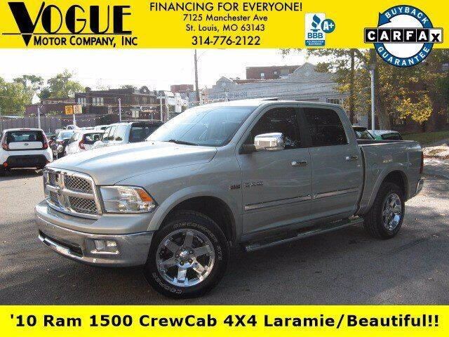 2010 Dodge Ram Pickup 1500 for sale at Vogue Motor Company Inc in Saint Louis MO