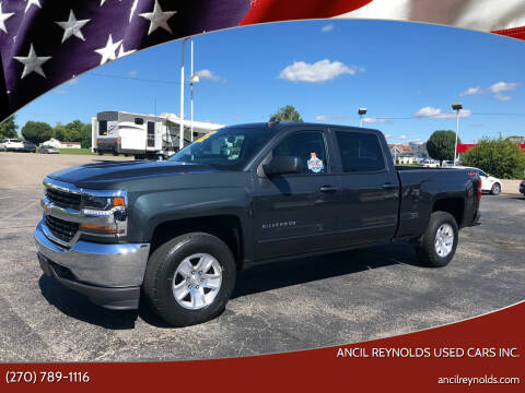 2018 Chevrolet Silverado 1500 for sale at Ancil Reynolds Used Cars Inc. in Campbellsville KY