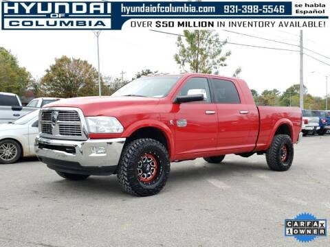 2012 RAM Ram Pickup 3500 for sale at Hyundai of Columbia Con Alvaro in Columbia TN