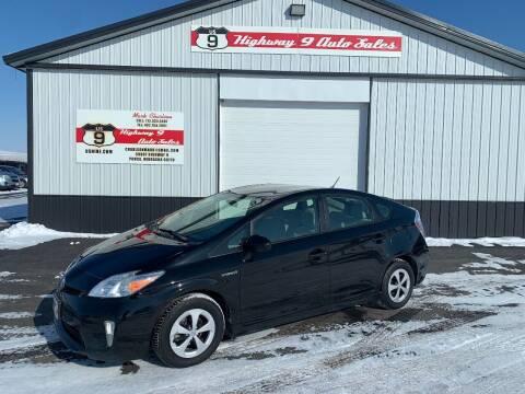 2014 Toyota Prius for sale at Highway 9 Auto Sales - Visit us at usnine.com in Ponca NE
