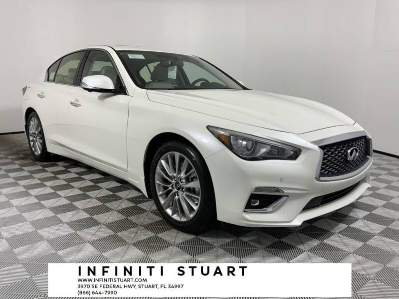 2021 Infiniti Q50 for sale in Stuart, FL