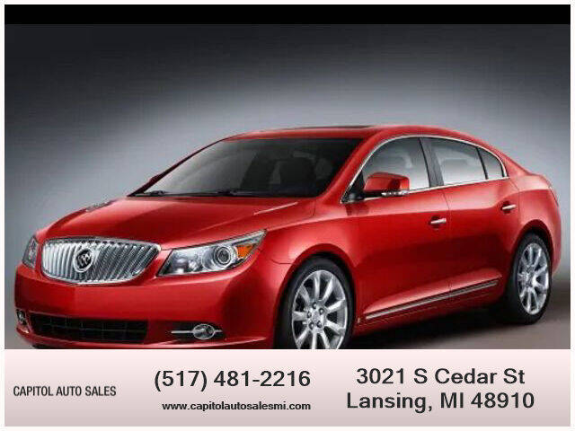 2010 Buick LaCrosse for sale at Capitol Auto Sales in Lansing MI